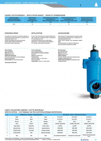 Angle valve T
