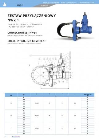 Zestaw przyłączeniowy NWZ-1