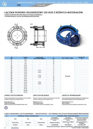 Rohr- und Flanschverbinder für Rohre aus verschiedenen Materialien