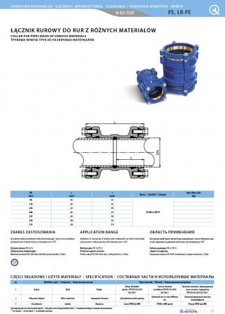 Rohrverbinder für Rohre aus verschiedenen PE-Materialien