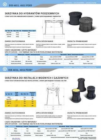 Straßenkappe für Unterflurhydranten DIN4055